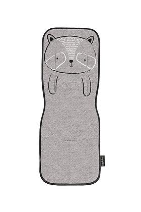 Capa para carrinho - Zoologico cinza - BimbiDreams