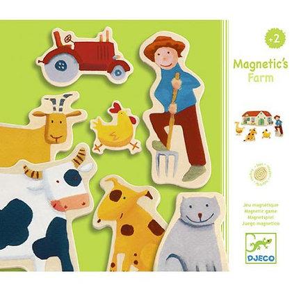 Jogo Magnético - Animais da Quinta - Djeco