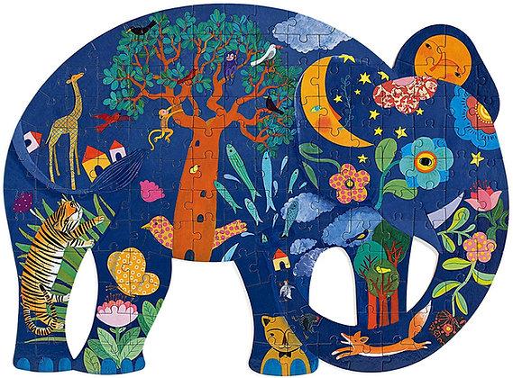Puzzle Elefante - Djeco