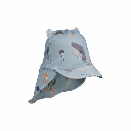 Chapéu de Sol - Senia - Sea Creature Mix - Liewood