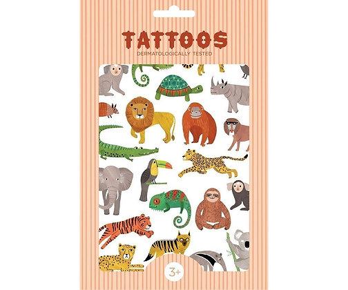 Tatuagens temporárias - Jungle Animals