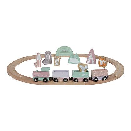Pista de Comboio – Adventure Pink -Little Dutch