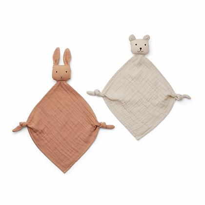 Pack 2 naninhas Yoko Mini Cuddle - Liewood