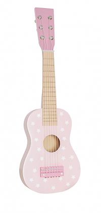 Guitarra rosa