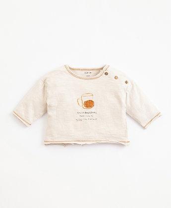 Camisola em algodão orgânico com abertura - Play Up