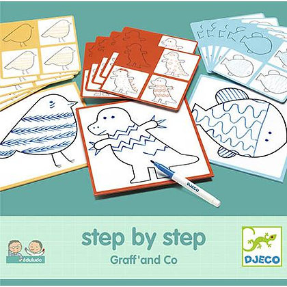 Aprende a desenhar - Graff' and CO - Djeco
