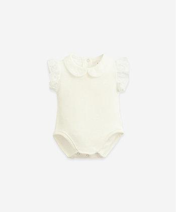 Body de malha com gola Windflower - PlayUp