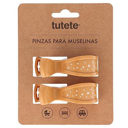 Pinças para Musselinas - Tutete - Mostarda