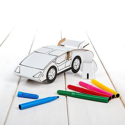 Carro Desportivo (6 canetas) - Calafant