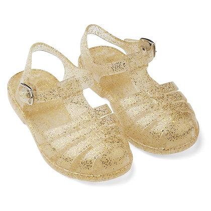 Sandálias Bre - Glitter Golden