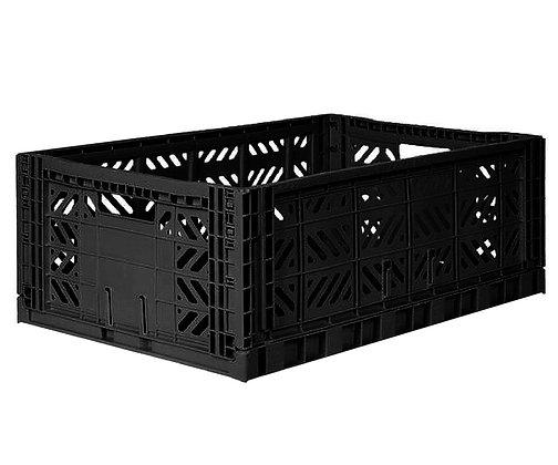 Caixa de Arrumação Grande - Eef Lilemor - Preto