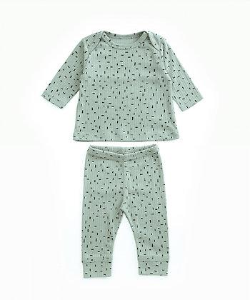 Pijama em algodão orgânico - Play Up