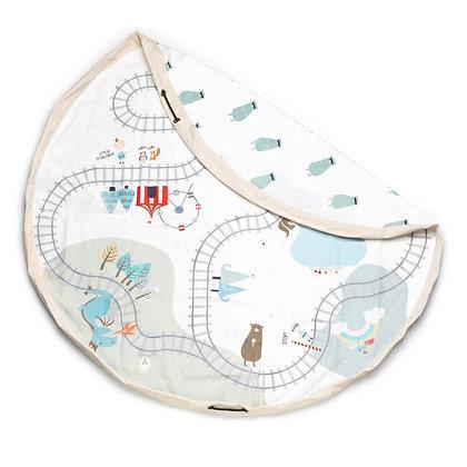 Saco de arrumação  Play&Go - Mapa do Comboio