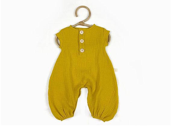 Nola Jumpsuit - Mustard