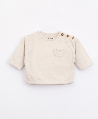 Camisola com bolso - algodão orgânico - Play Up