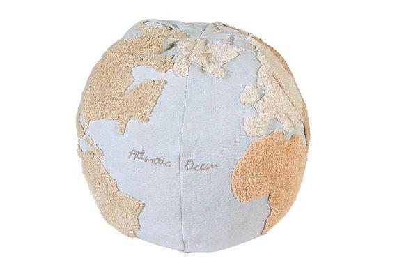 Pufe Mapa-Mundo - Lorena Canals