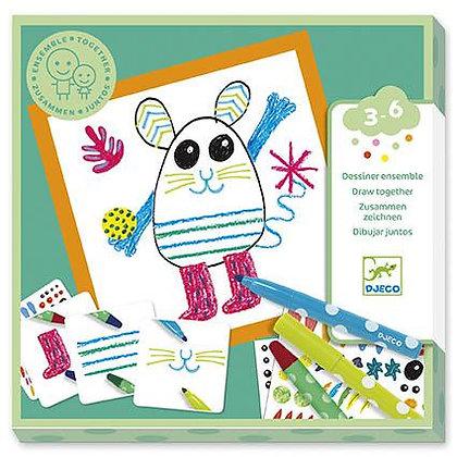 Jogo de Colorir - Pequenos Animais - Djeco