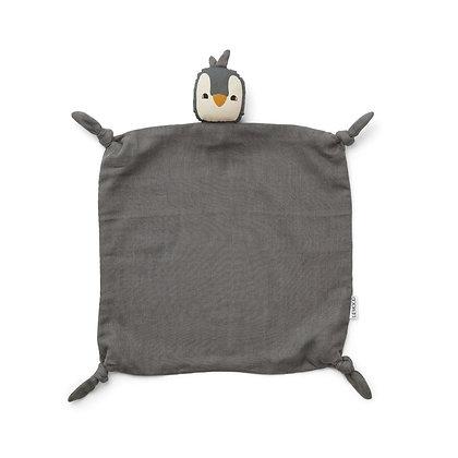 Naninha Liewood -Agnete Cuddle Cloth - Penguin stone grey