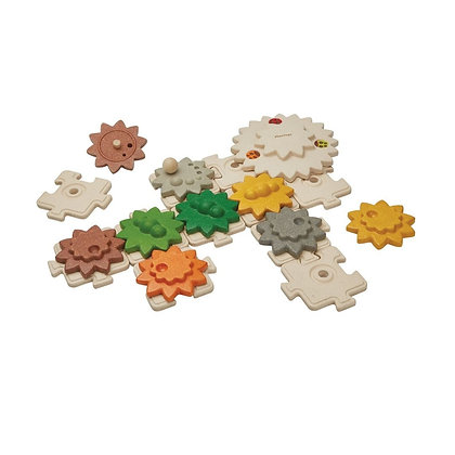 Engrenagens & Puzzles - Plan Toys