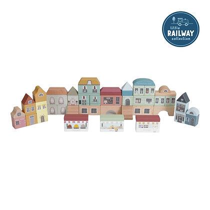 Blocos da Cidade – Railway Collection - Little Dutch