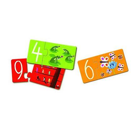 Puzzle Duo - Números -Djeco