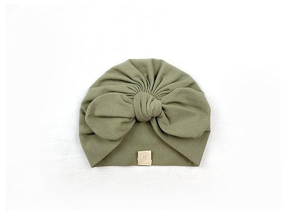 Hibbie turban - Olive