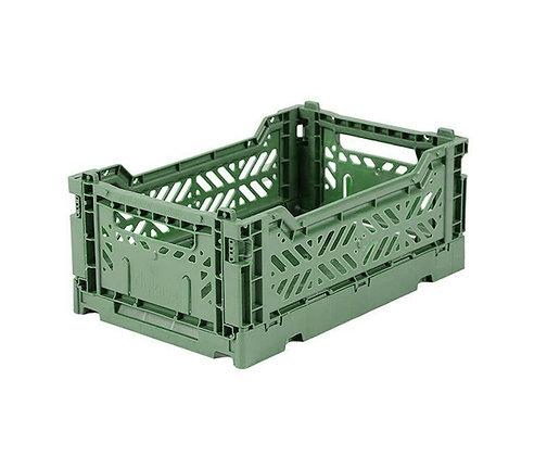 Caixa de arrumação Mini -Lillemor - Verde Almendra