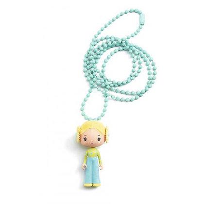 Colar amuleto Tinyly - Flore - Djeco