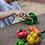 Thumbnail: Frutos e Vegetais c/ velcro PlanToys