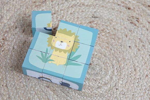 Puzzle Cubos - Little Dutch