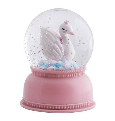 Globo de Luzes - Cisne