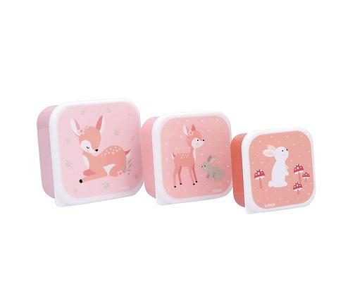 Conjunto lancheiras - Sweet Deer - Tutete
