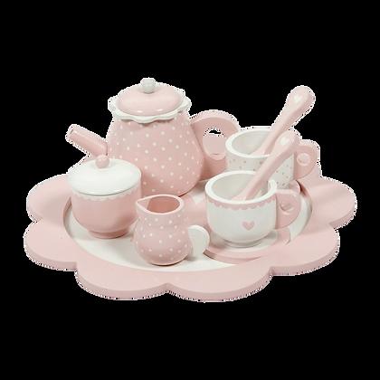 Conjunto de chá Rosa - Little Dutch
