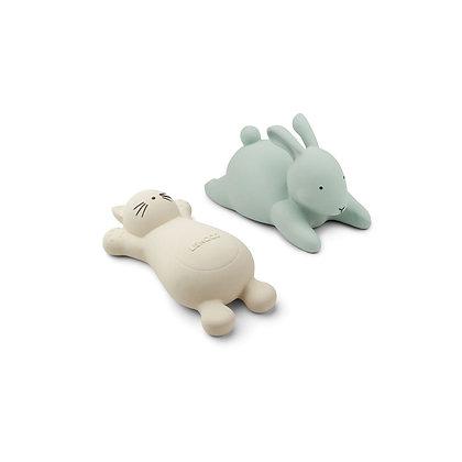 Pack 2 brinquedos de banho - Vikky - CAT CREME DE LA CREME