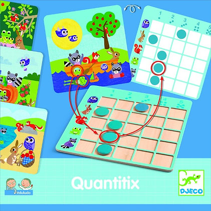 Quantifix - Jogo de lógica e números