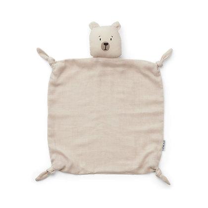 Naninha Liewood -Agnete Cuddle Cloth -Polar bear sandy
