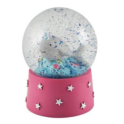 Mini Globo de Neve - Sereia - Floss&Rock