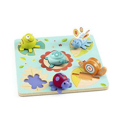 Puzzle formas com animais - LILO - Djeco