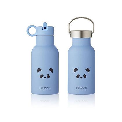Garrafa  De Água Térmica - Panda Sky Blue - Liewood