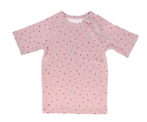 Camisola de Praia - Monneka - Dots pink