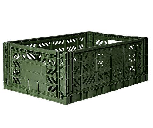 Caixa de Arrumação Grande - Eef Lilemor - Kaki