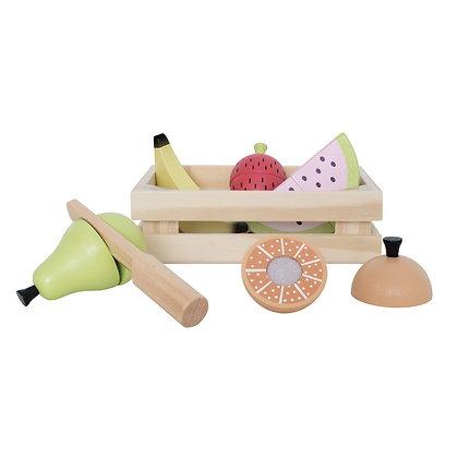 Cestinha de Frutas para cortar - Jabadabado