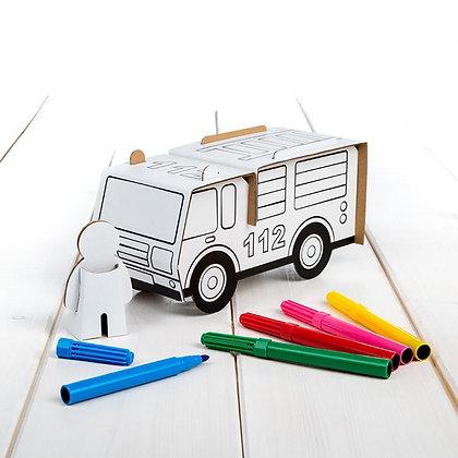 Carro de Bombeiros - Calafant (6 canetas)