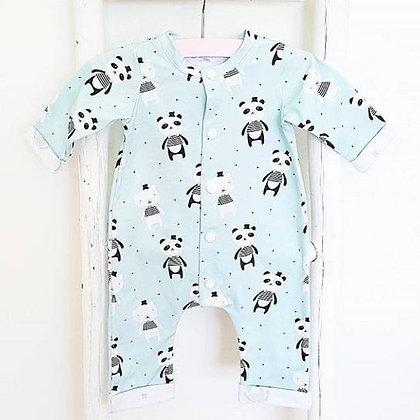 Jumpsuit - Panda Feliz