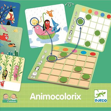 Jogo de Lógica e Cores - Animo Colorix - Djeco
