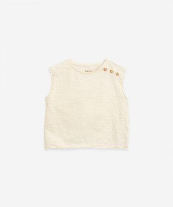 T-shirt sem Mangas Dandelion - Play Up
