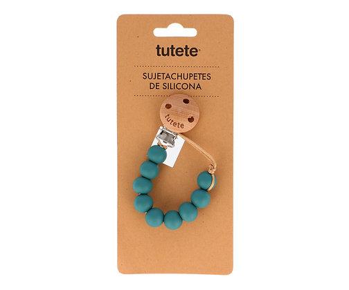 Clipe porta-chucha - Tutete - Pure Teal