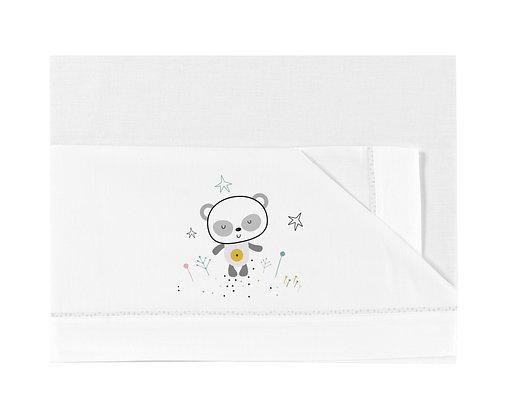 Lençois 60x120 - Panda - Bimbidreams