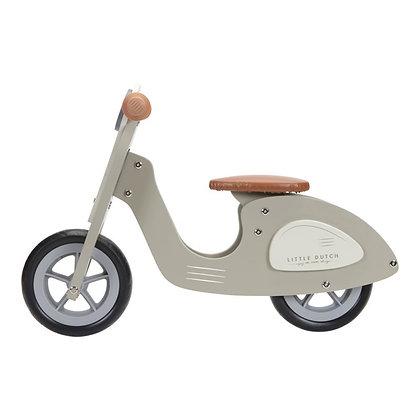 Scooter de Equilíbrio – Olive - Little Dutch