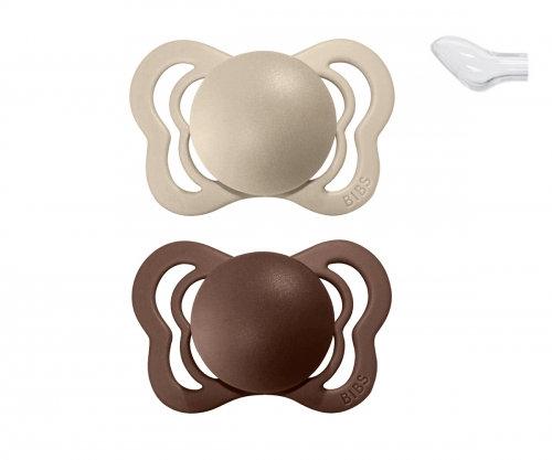BIBS Couture Vanilla / Mocha - Silicone